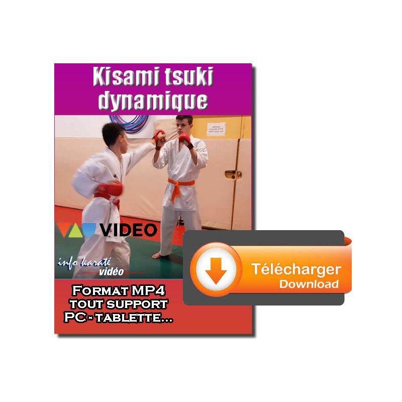 Kisami tsuki competitive for beginners - Hand.1
