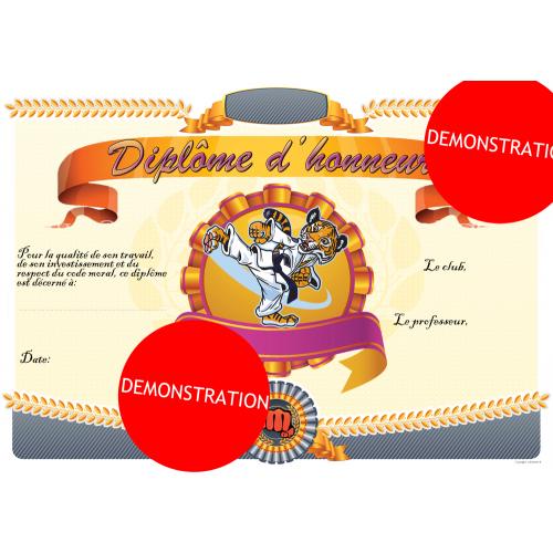 Diplomas of Honour